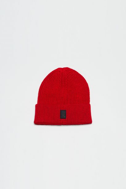 Cross Patch Beanie