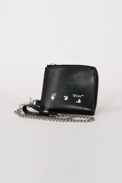 Ow Logo Chain Wallet