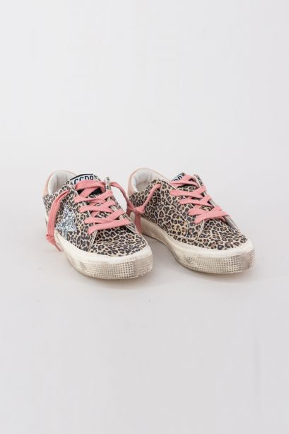 May Leopard Suede Upper