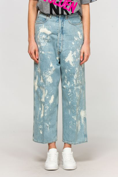 Jeans breezy rotture
