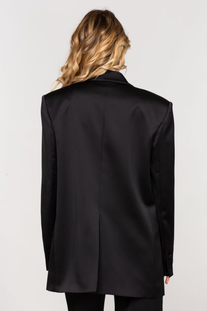 Guia blazer over satin