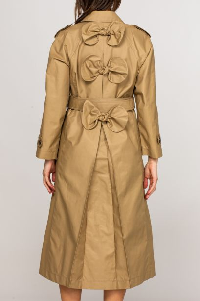 Trench fiocchi back