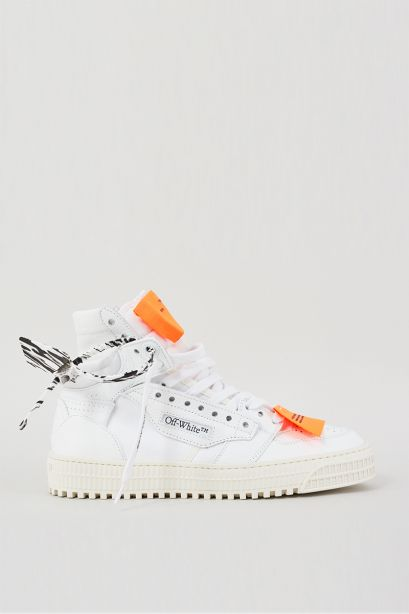 3.0off court white leather